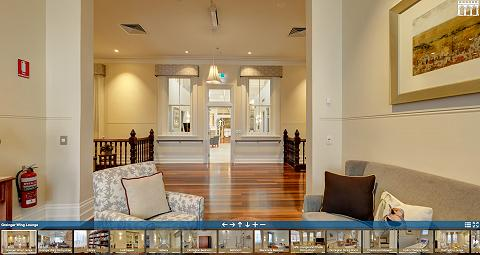 Virtual Tour of Aegis Montgomery House
